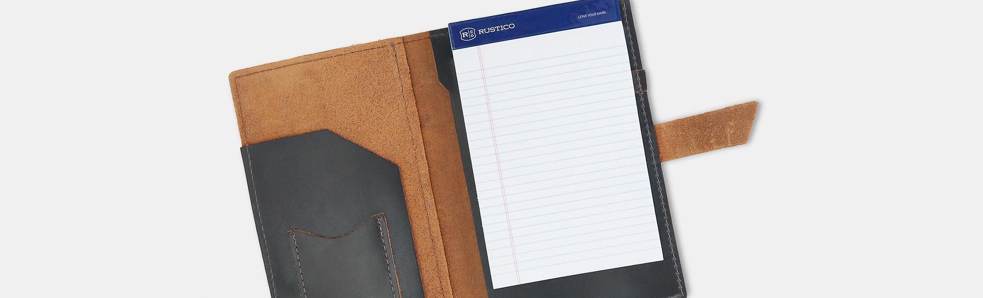 Rustico Leather Pad Portfolio