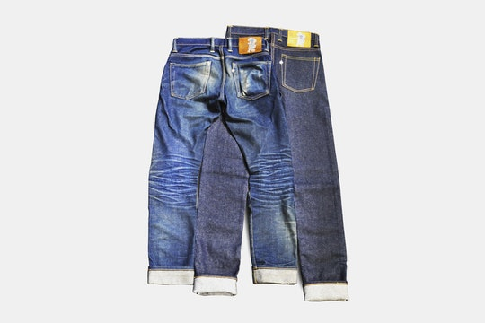 Sage Denim Rover 14oz Denim