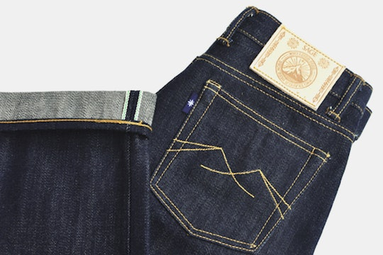 Sage Ironchief 23oz Unsanforized Deep Indigo Denim