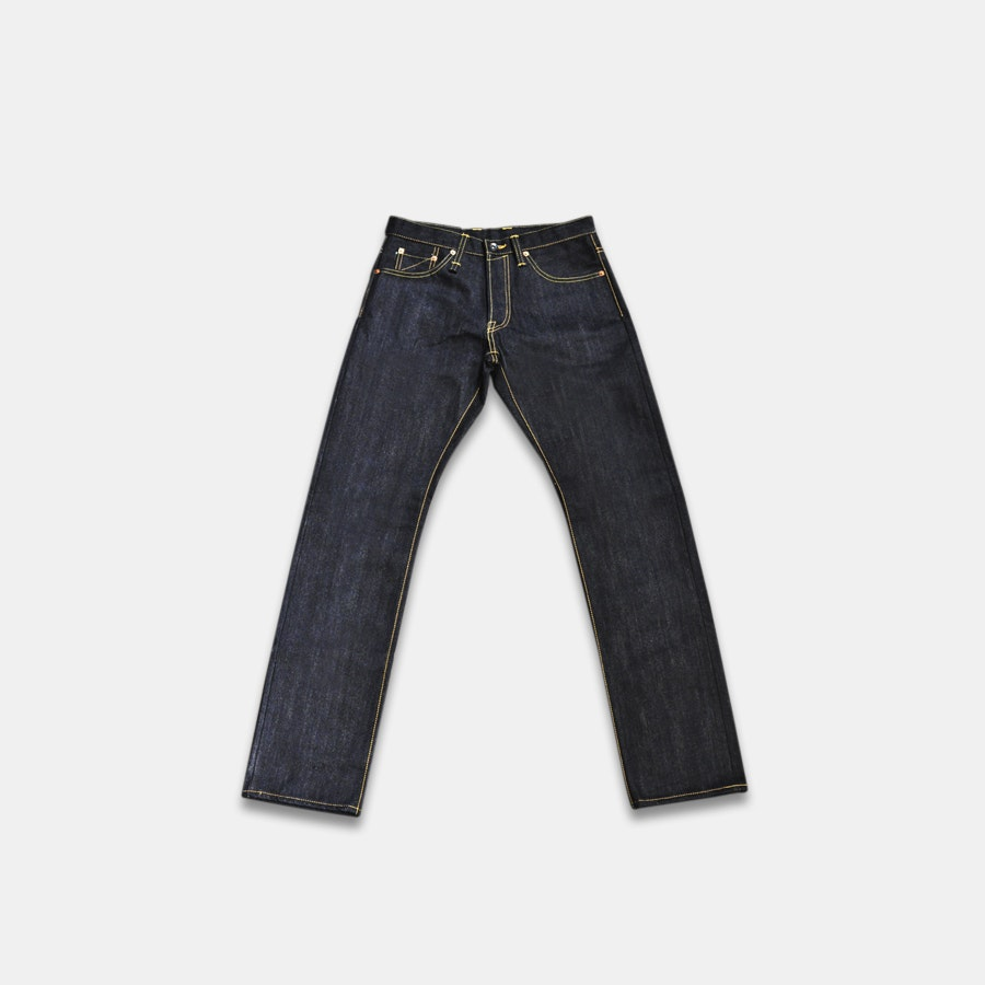 Sage Ranger IV-X 19oz Unsanforized Indigo Denim
