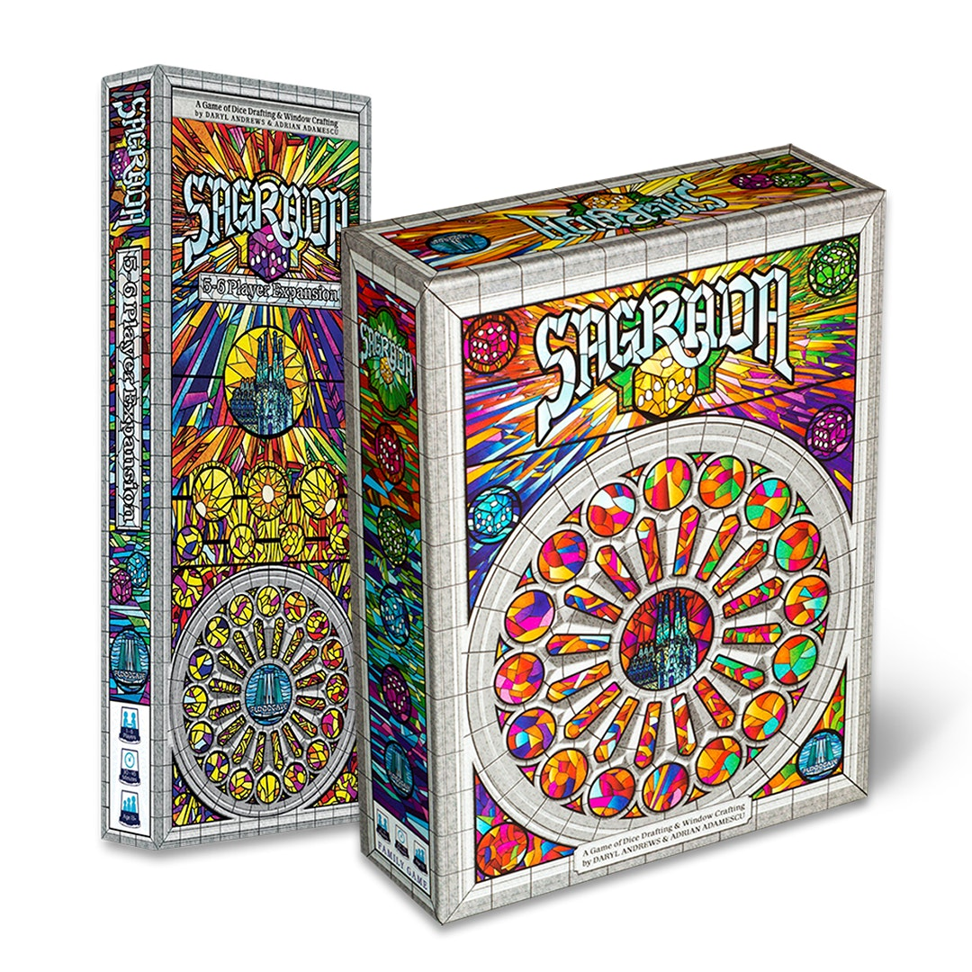 Sagrada Board Game Bundle