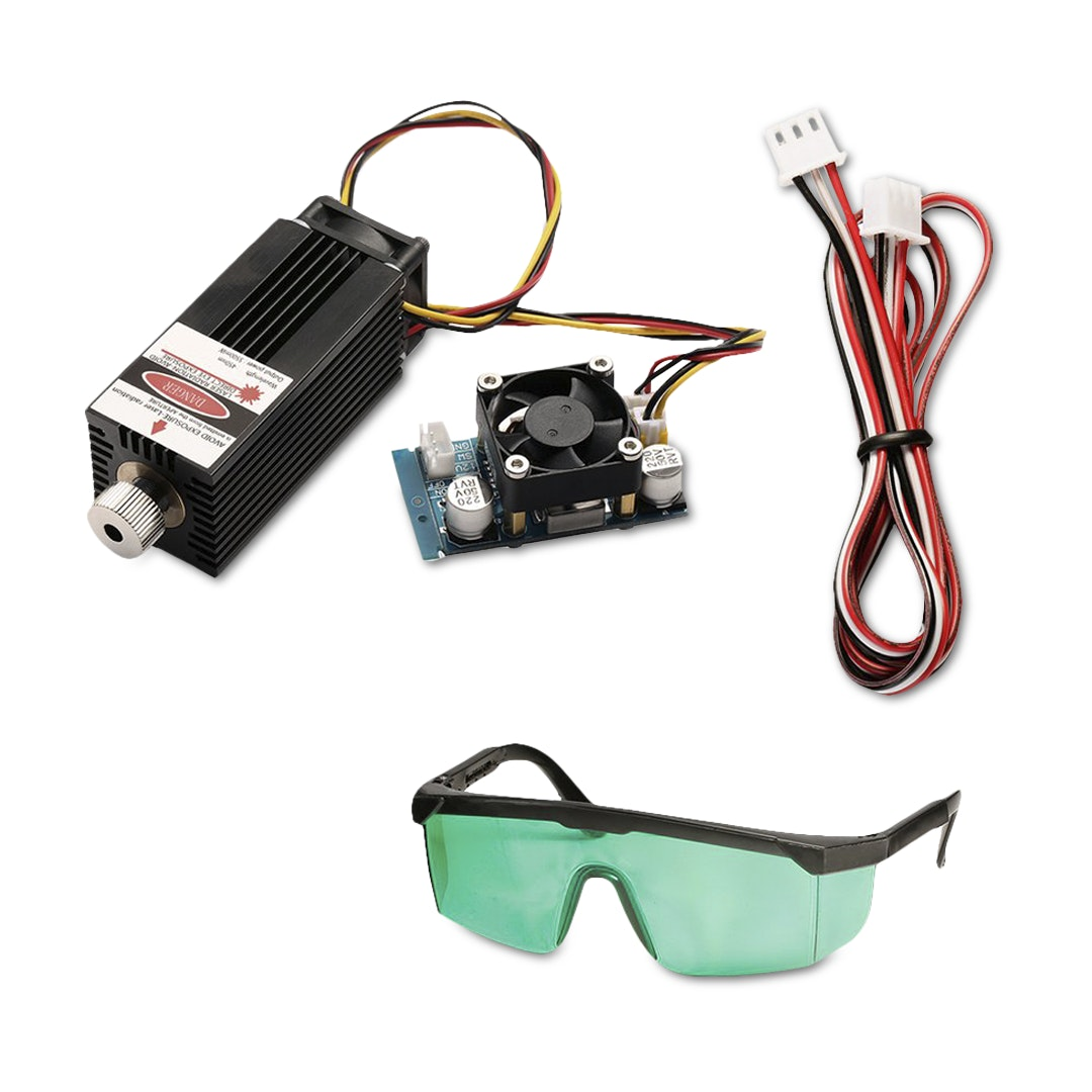 SainSmart 5.5W Blue Laser Module Kit