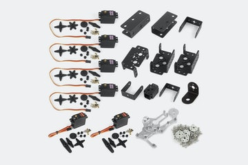 SainSmart 6-Axis Mechanical Desktop Robotic Arm Kit