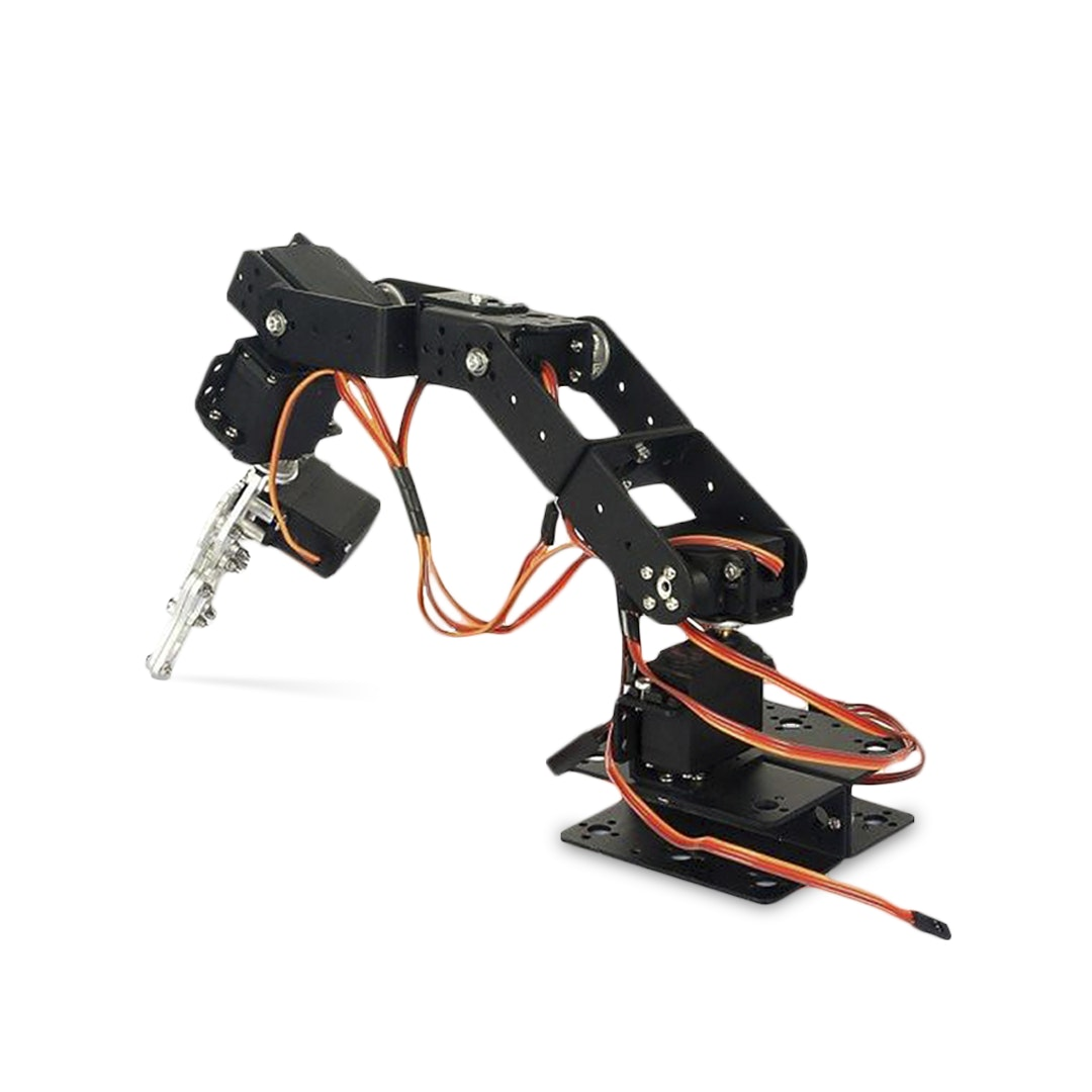 SainSmart 6-Axis Mechanical Desktop Robotic Arm Kit