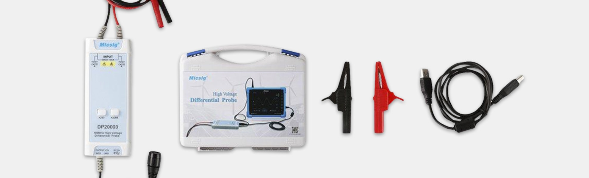 SainSmart Micsig Differential Probe Kit