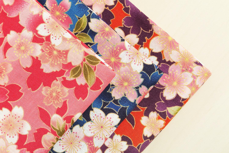 Sakura by Quilt Gate Half Yard Bundle