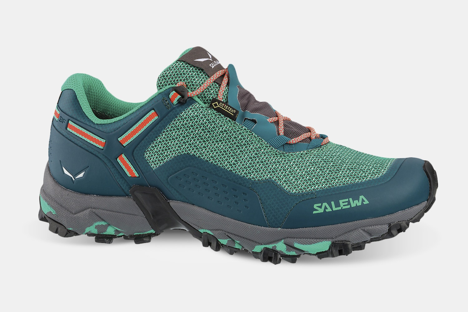 Womens - Shaded Spruce/Fluo Coral