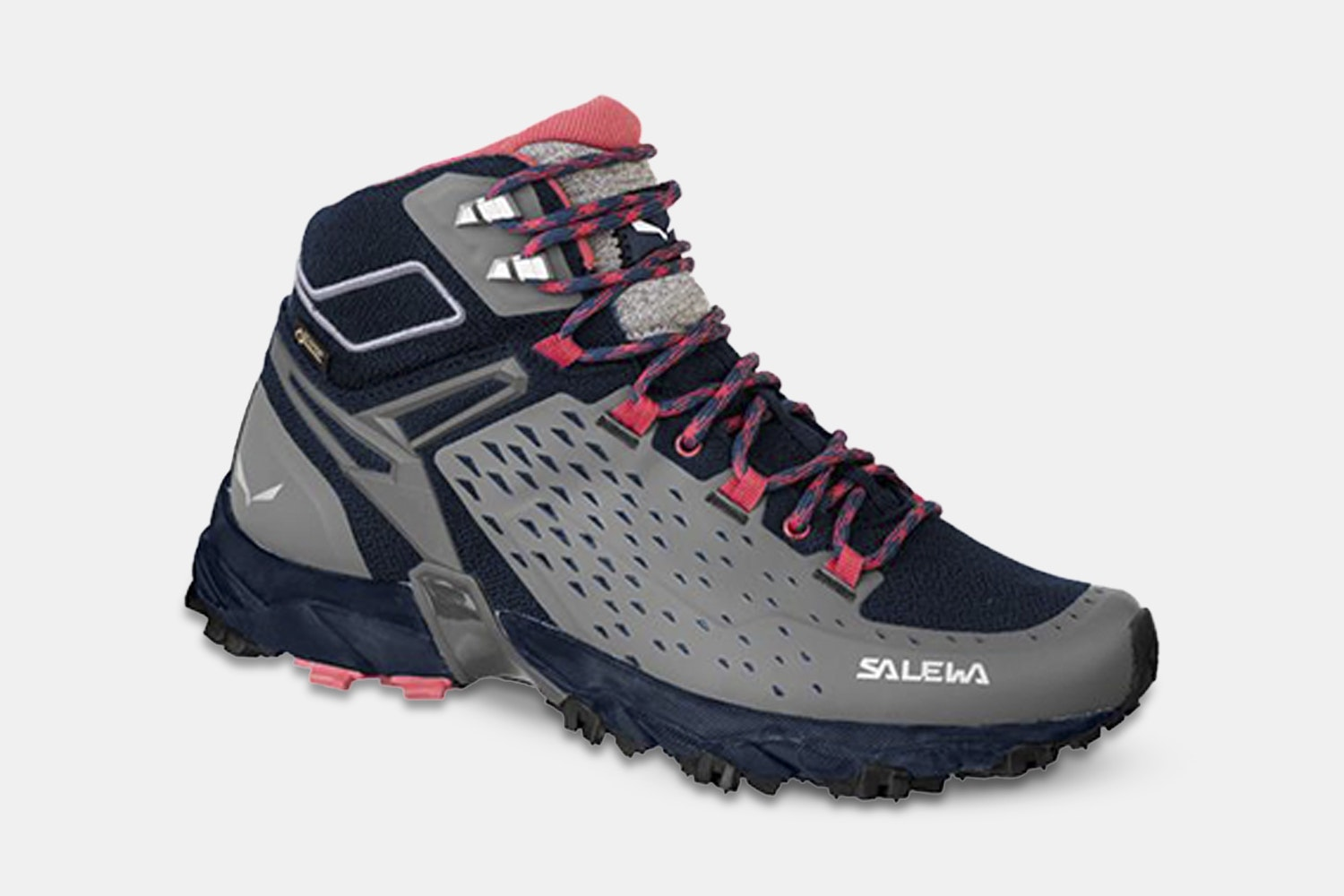 Women's Alpenrose Ultra Mid GTX – Night Black/Mineral Red