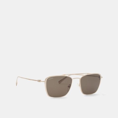 49bf56dee071 Salvatore Ferragamo Navigator Sunglasses   Price & Reviews   Drop (formerly  Massdrop)
