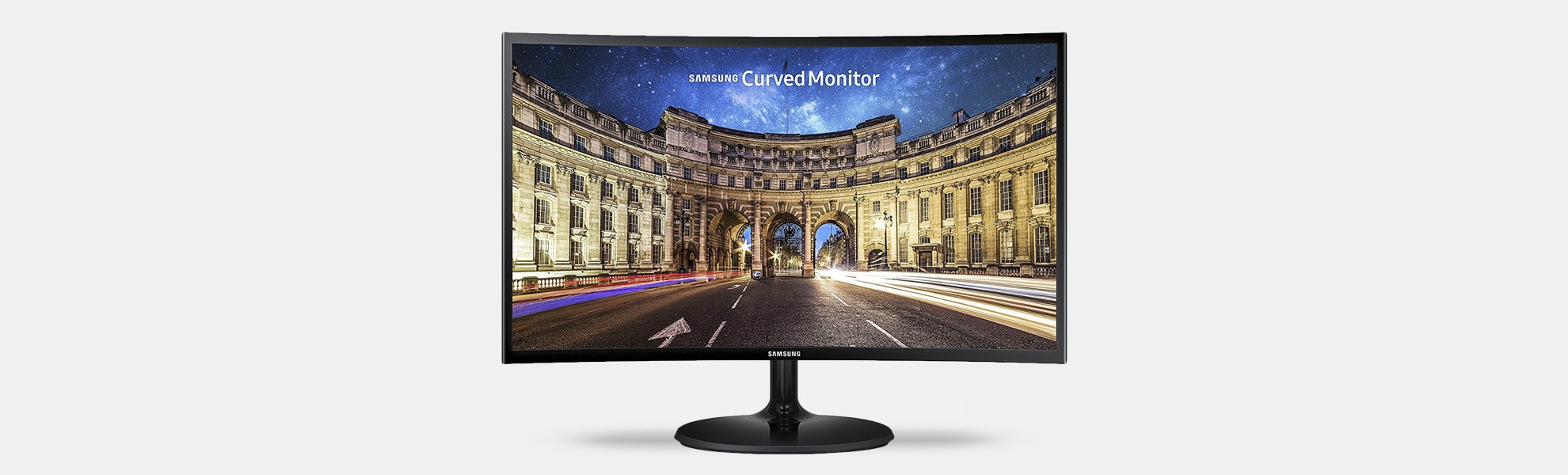 "Samsung 24"" CF390 Curved LED Monitor"
