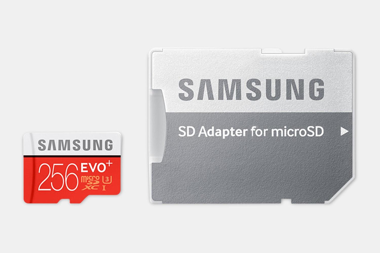 Samsung 256GB Micro SDXC EVO+ 100MB sec 2017 Model