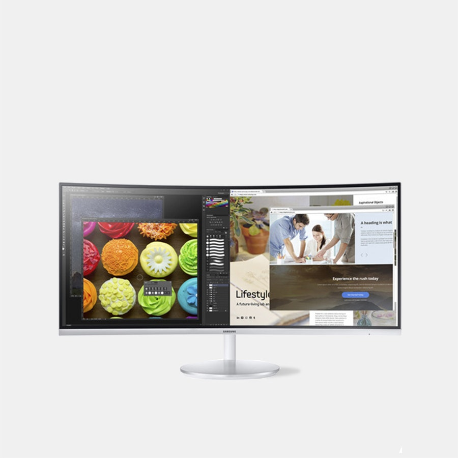 Samsung 34-Inch (3440 x 1440p) 100Hz Curved Monitor