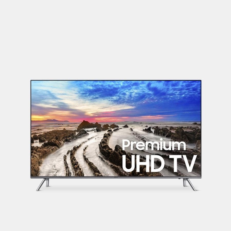 Samsung 55-Inch 4K Ultra HD Smart LED TV - 2017
