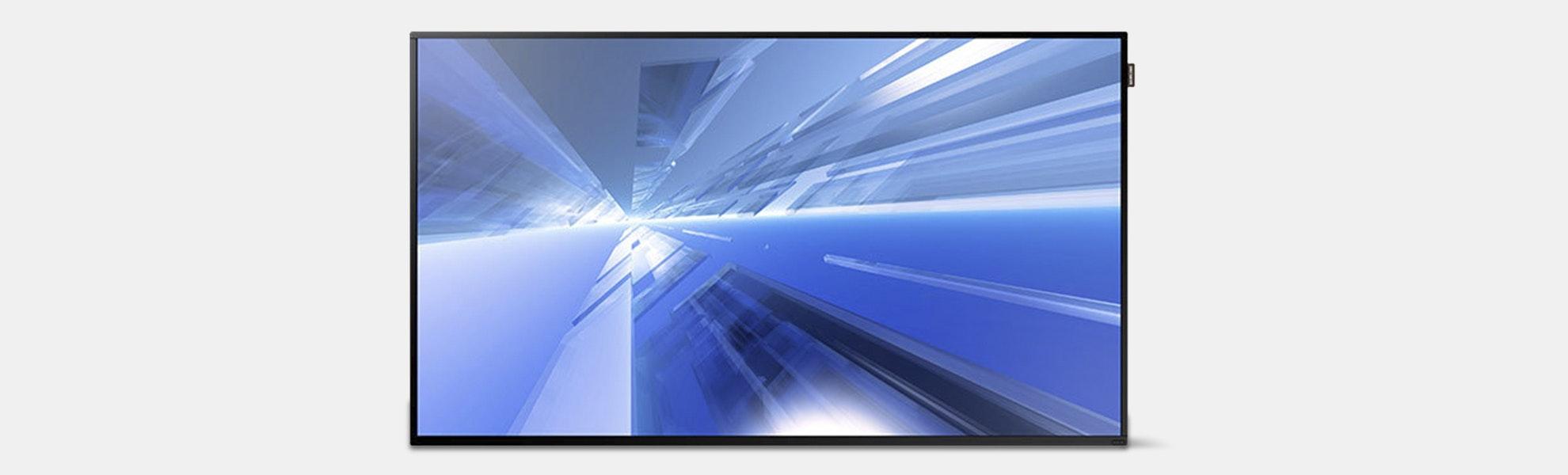 "Samsung 55"" Slim Direct-Lit Display for Business"