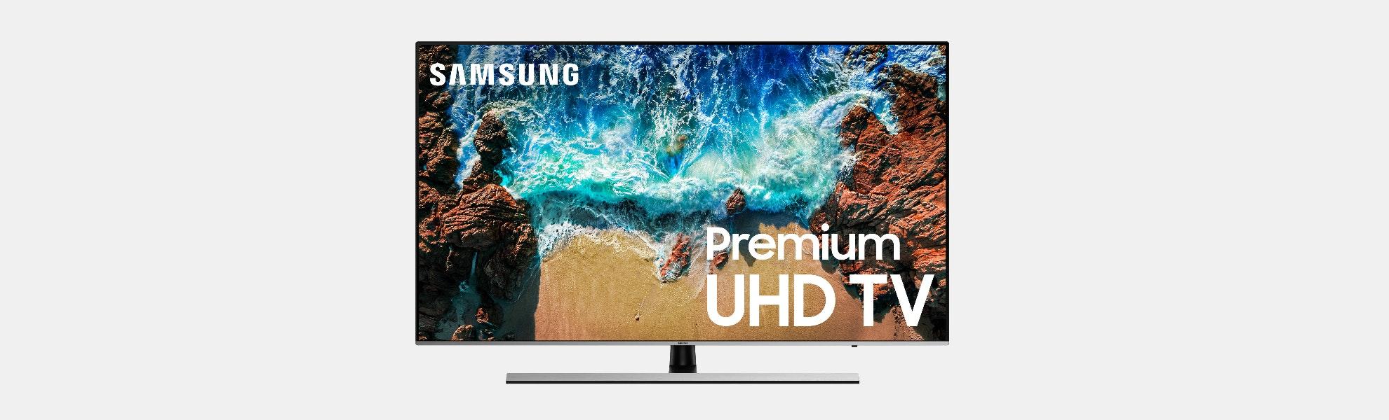 """Samsung 55/65/75/82"""" 4K Ultra HDR10+ NU8000 TVs"""