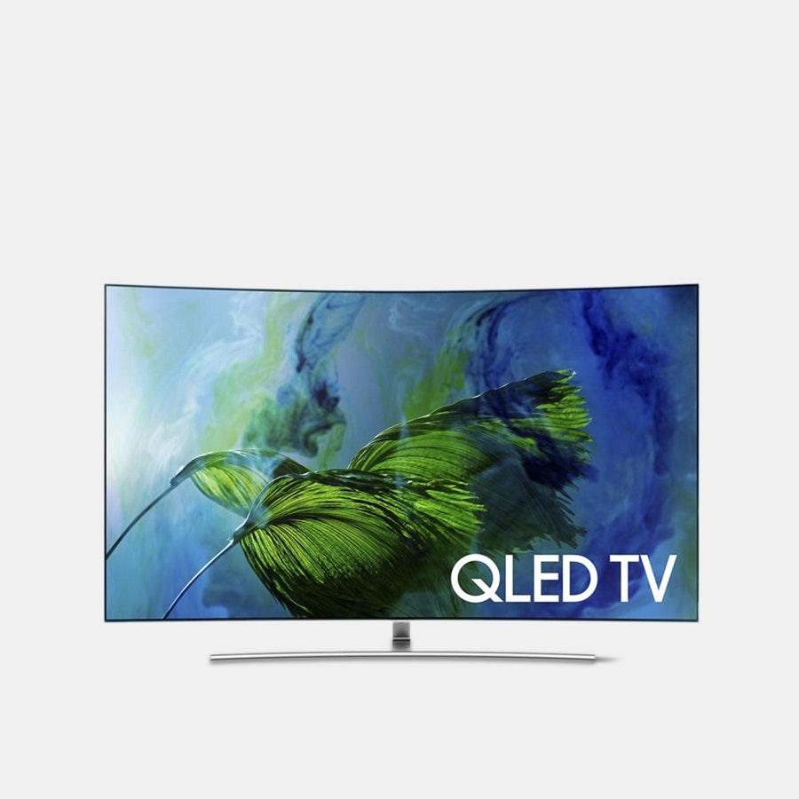 Samsung 65/75-Inch Q8C Curved QLED 4K TV