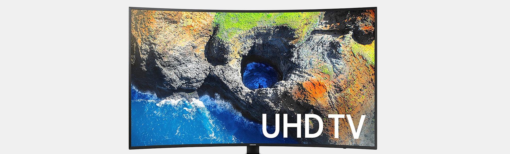 Samsung 55|65-Inch MU7500 Curved 4K UHD TV