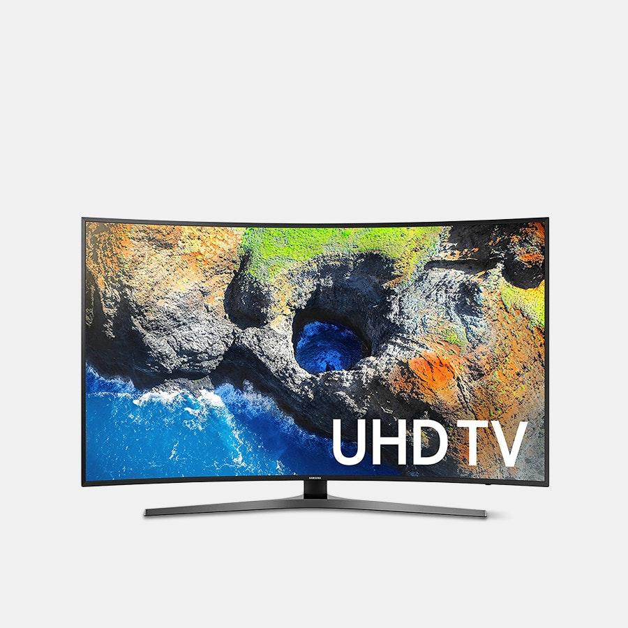 Samsung 55/65-Inch MU7500 Curved 4K UHD TV