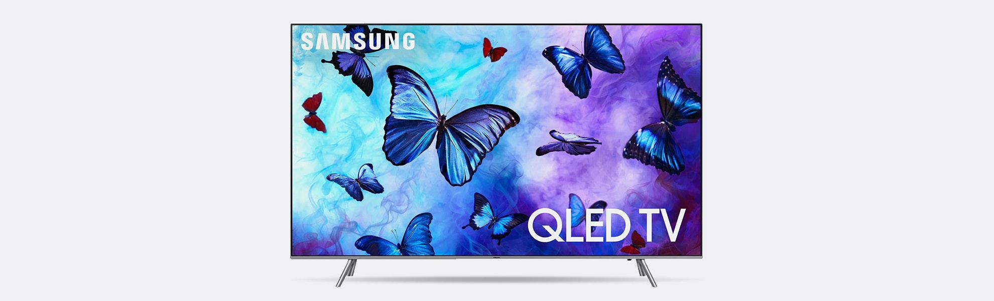 "Samsung 82"" Class Q6FN QLED Smart 4K UHD TV (2018)"