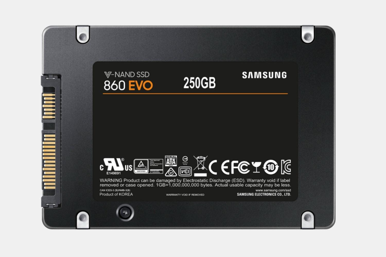 """MZ-76E250E 860EVO 2.5"""" SATA III  250GB (-$110)"""