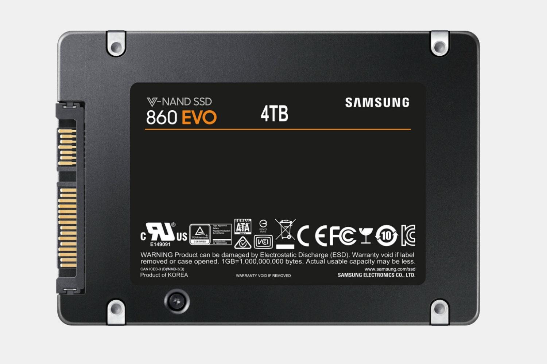 "860EVO 2.5"" SATA III 4TB - MZ-76E4T0E (+$830)"