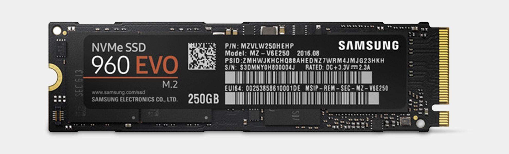 Samsung  960EVO NVMe M.2 SSD Drive