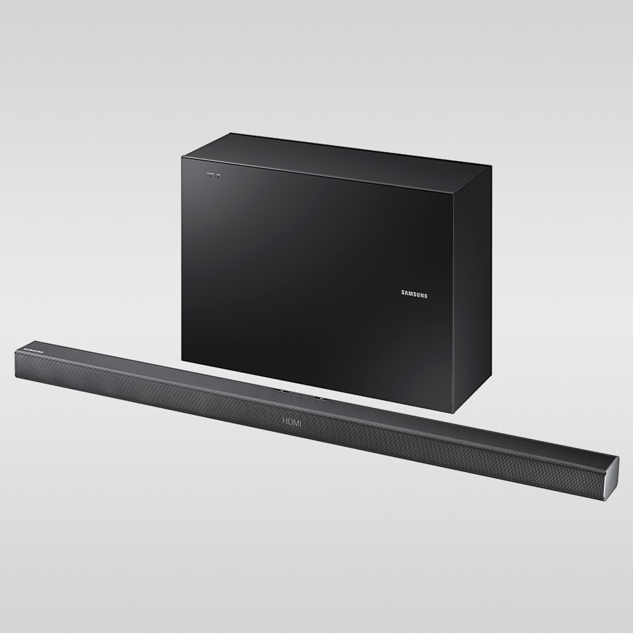 Samsung HW-J550 - 2.1 Soundbar w/Wireless Sub