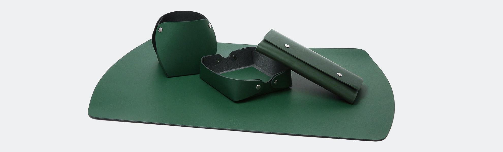 San Lorenzo Design Recycled Leather Desk Set