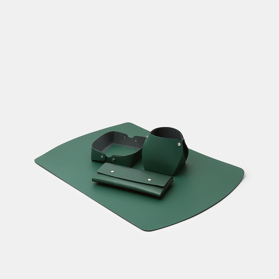 San Lorenzo Design Recycled Leather Desk Set