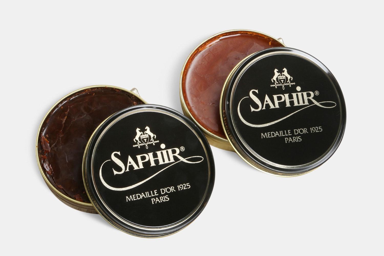 Saphir 100ml Wax Polish (2-Pack)