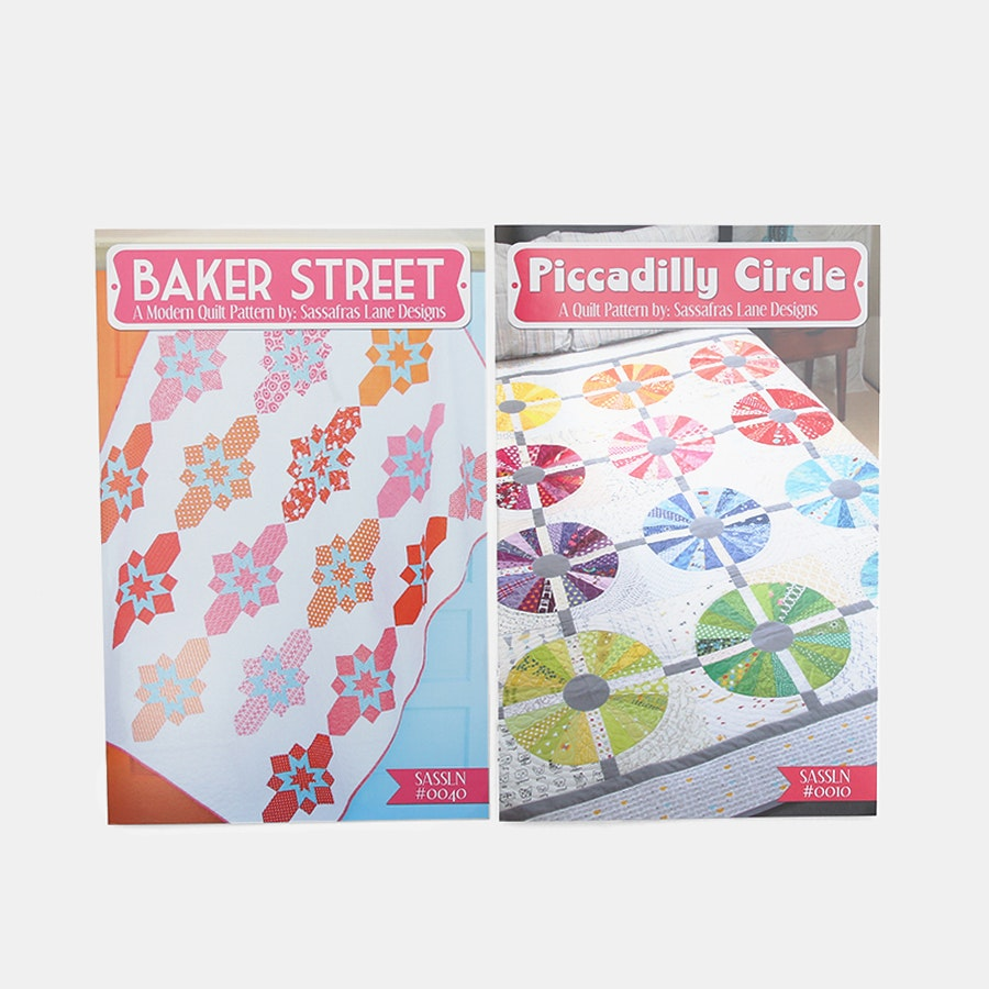 Sassafras Quilt Pattern Bundle