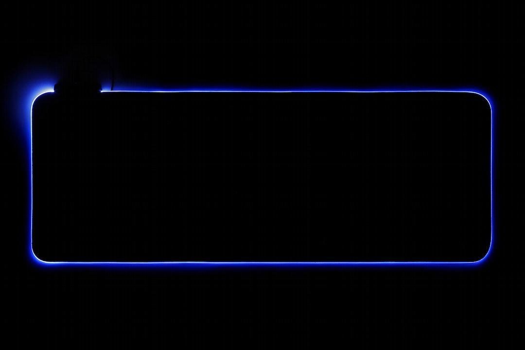 Satan RGB Light Edge Deskmat