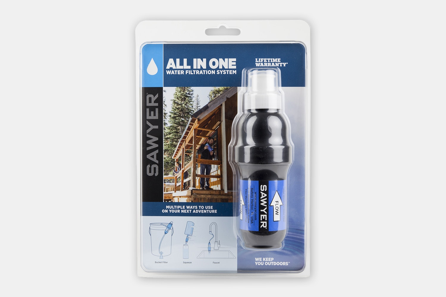 Sawyer All-in-One Squeeze Water Filtration System