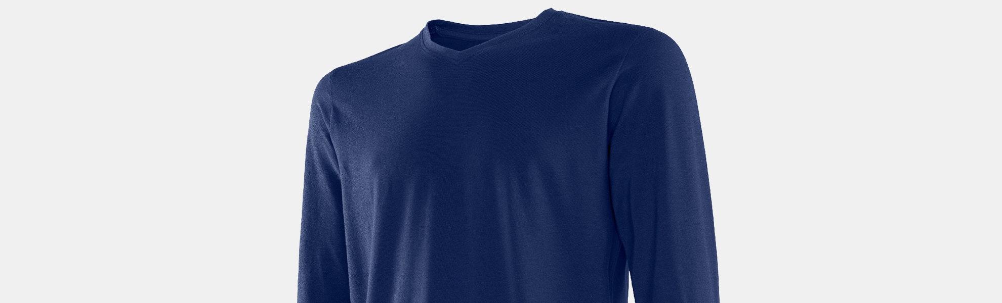 SAXX 3Six Five Long-Sleeve V-Neck T-Shirt