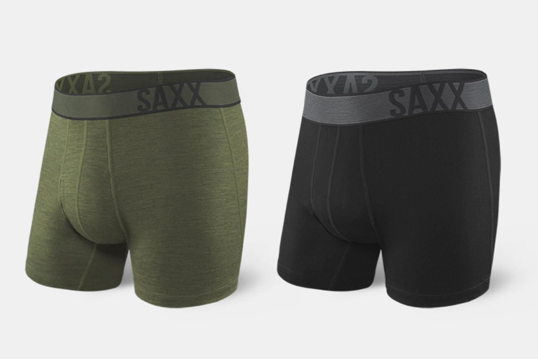 SAXX Blacksheep Merino Boxers & Baselayers