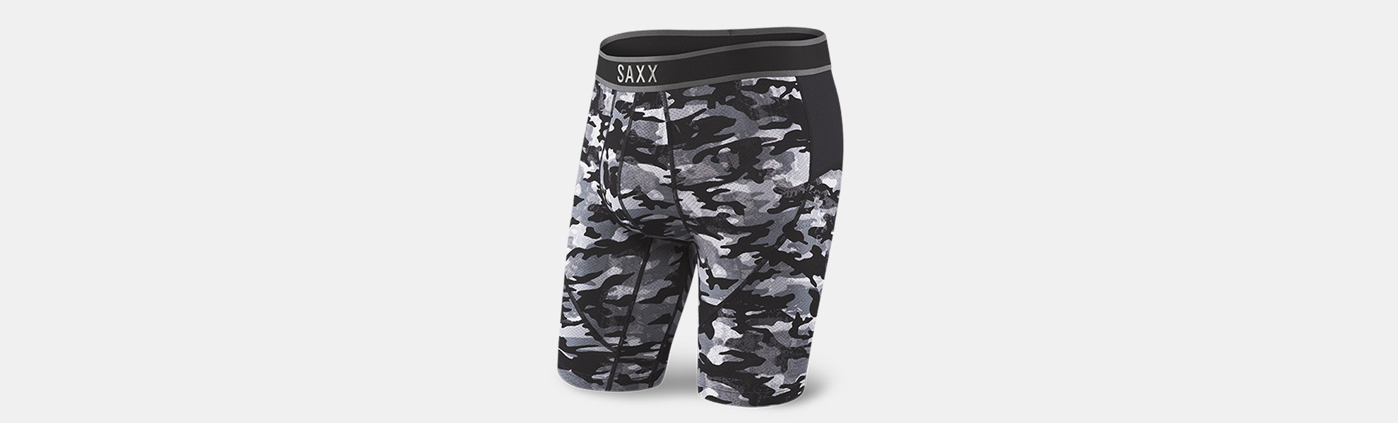 Closeout: SAXX Kinetic Long-Leg Boxer Brief & Tight