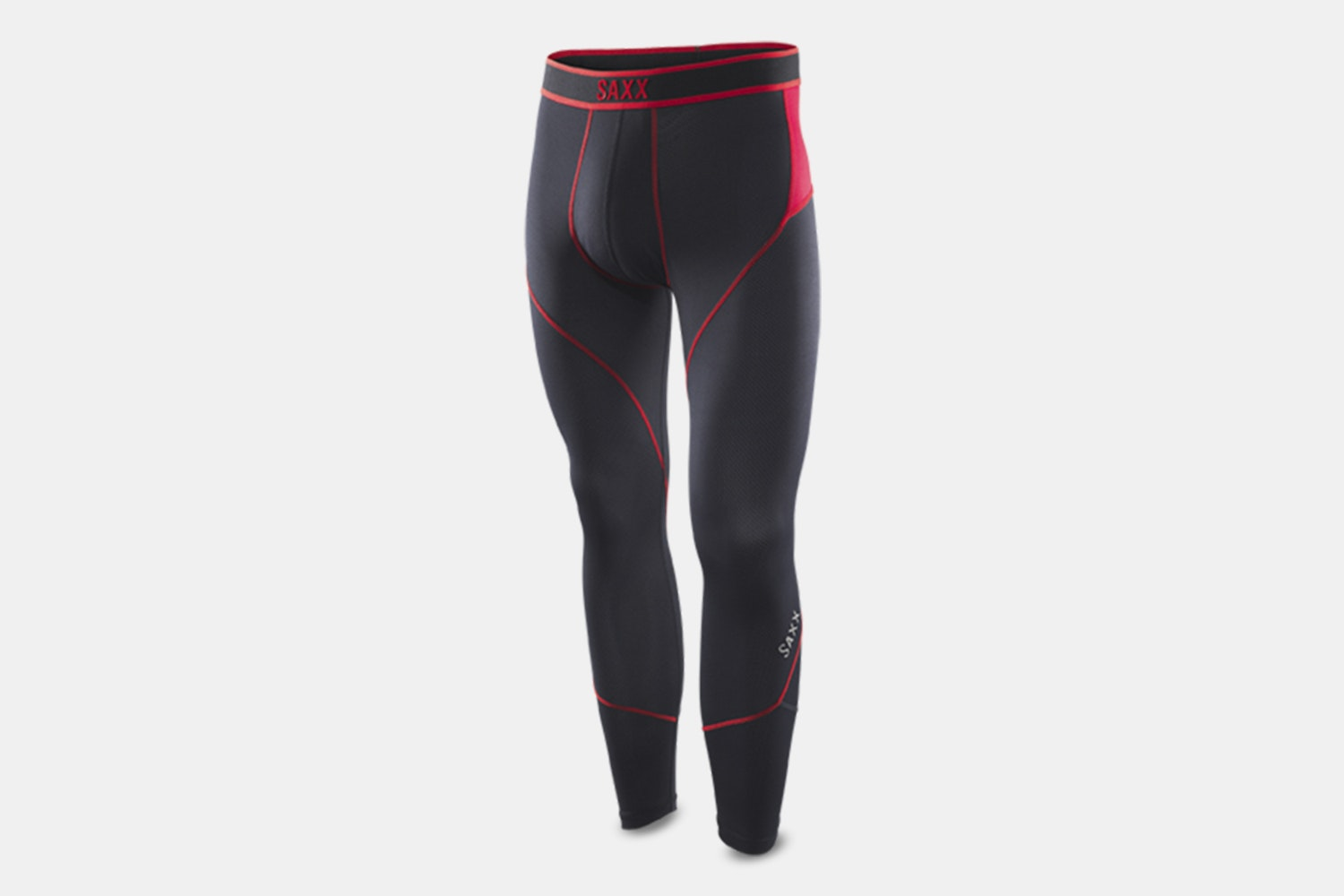 Kinetic Tights – Black/Red (+ $10)