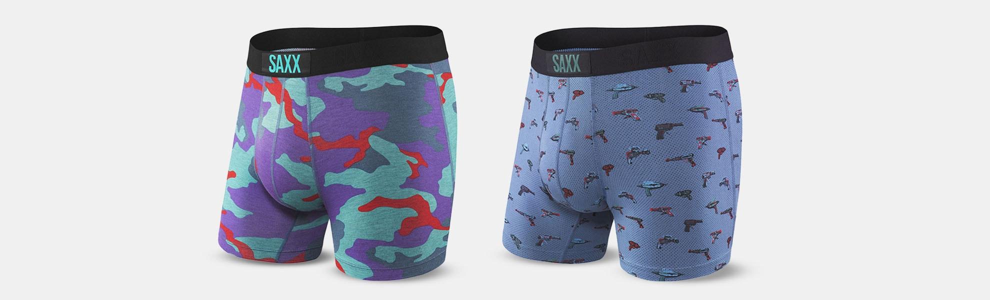 SAXX Vibe Boxer Briefs (2-Pack)