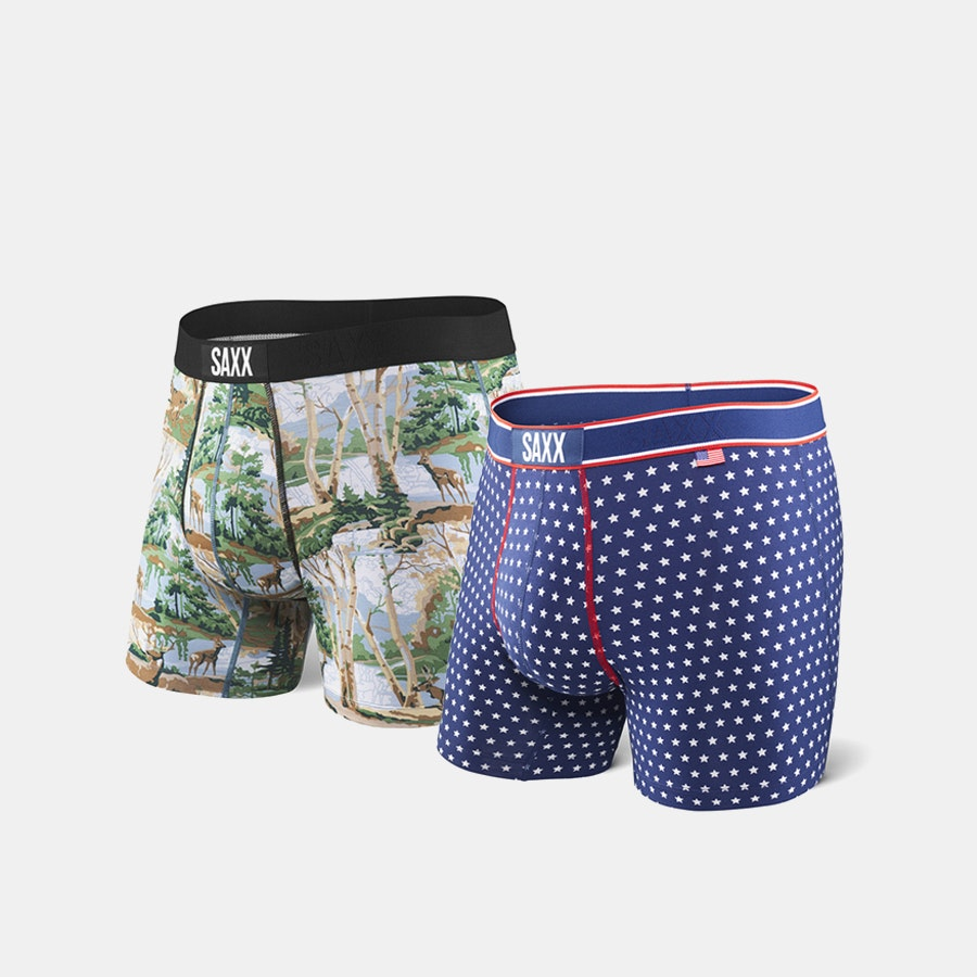 SAXX Vibe Boxer Briefs (2-Pack)
