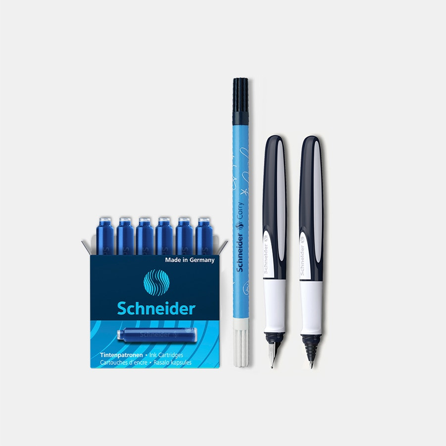 Schneider Ray Fountain Pen & Rollerball Bundle