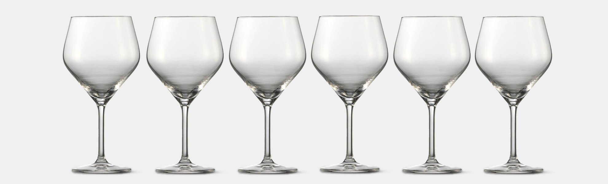 Schott Zwiesel Audience Burgundy Glasses (Set of 6)