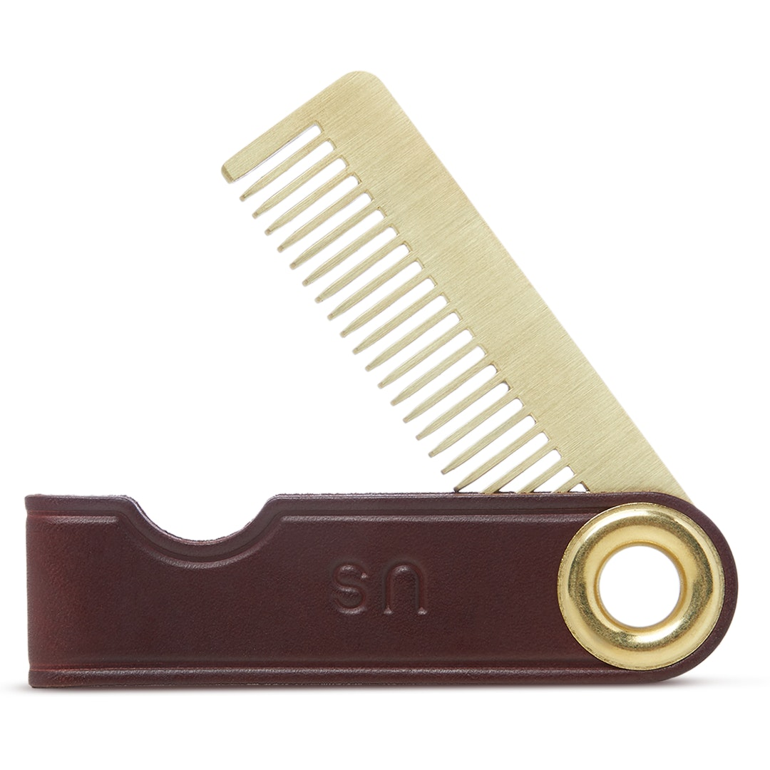 Schwarz SI: 1942 Brass & Stainless Steel Comb