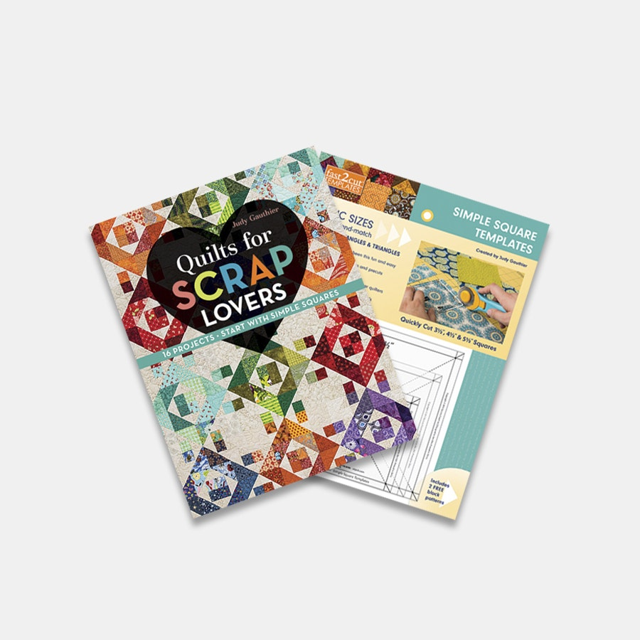 Scrap Quilting Bundle by Judy Gauthier