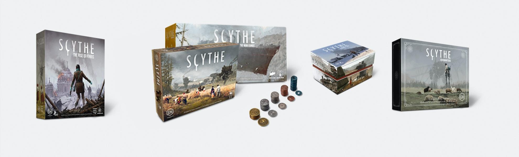 Scythe Scythe Legendary Board Game Bundle