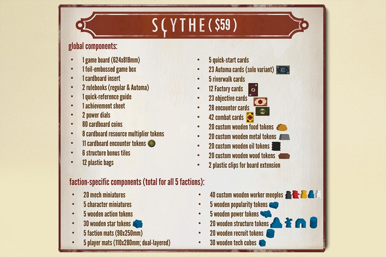 Scythe Preorder