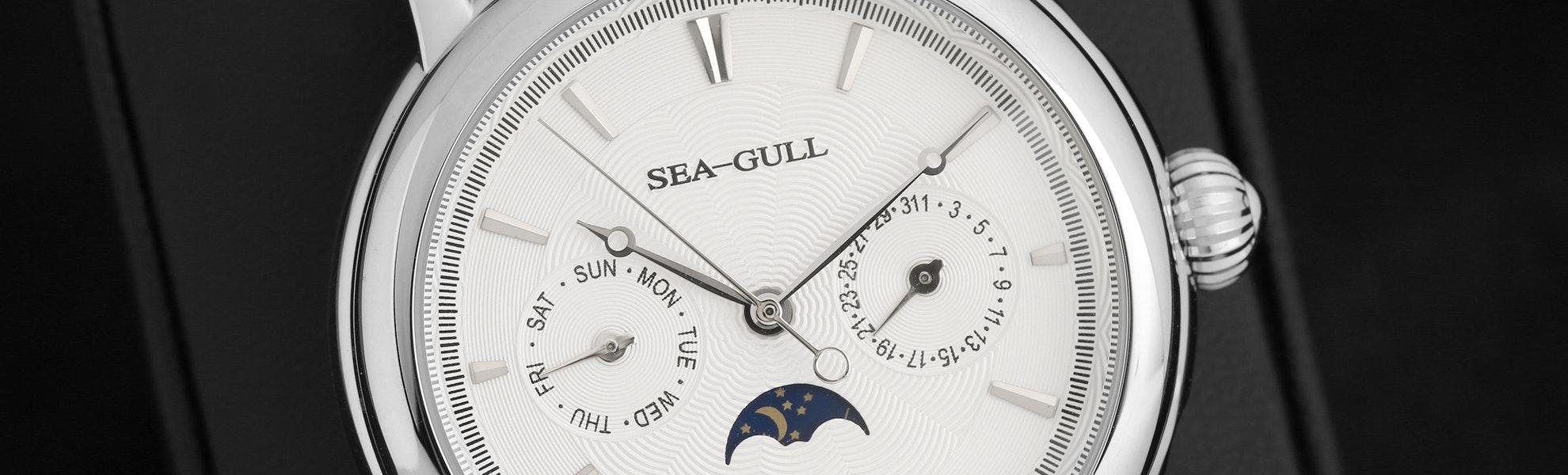 Sea-Gull D0271 Day/Night Watch