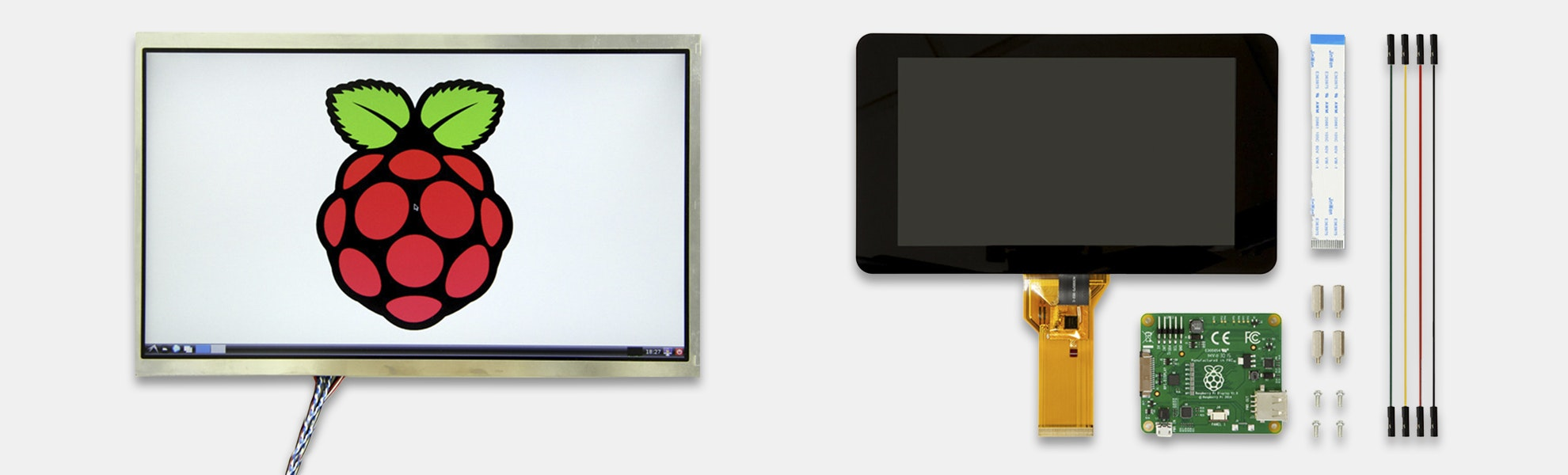 Seeed LCD Displays for Raspberry Pi
