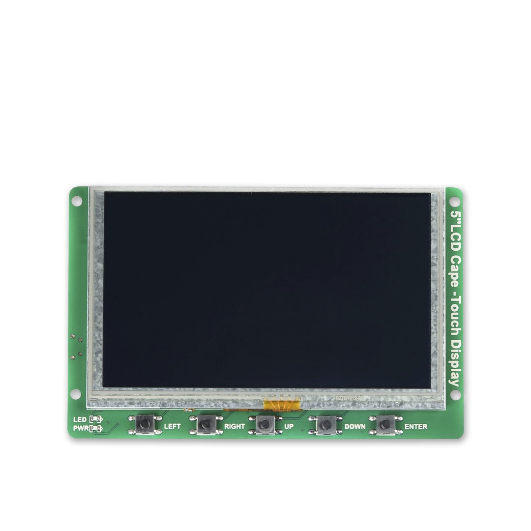 "Seeed 5"" Touch LCD Display for BeagleBone Green"