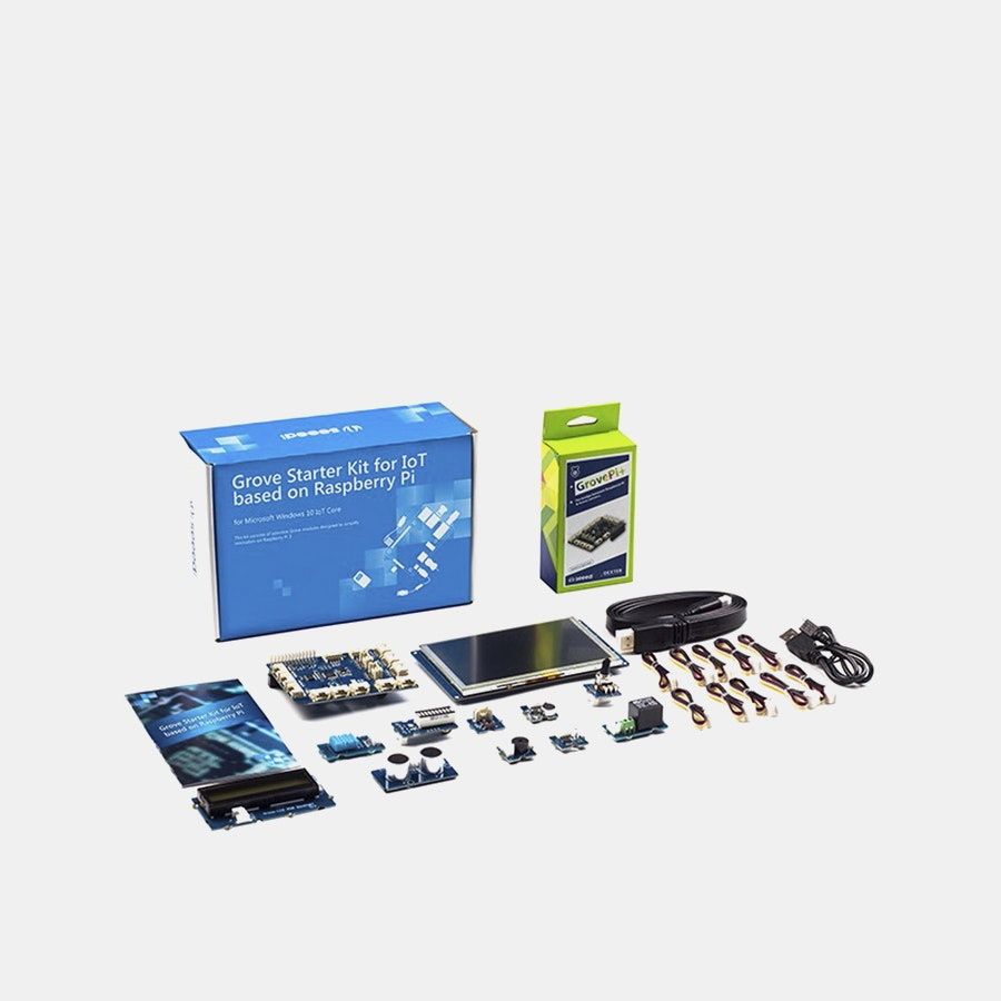 Seeed Grove IoT Starter Kit for Raspberry Pi