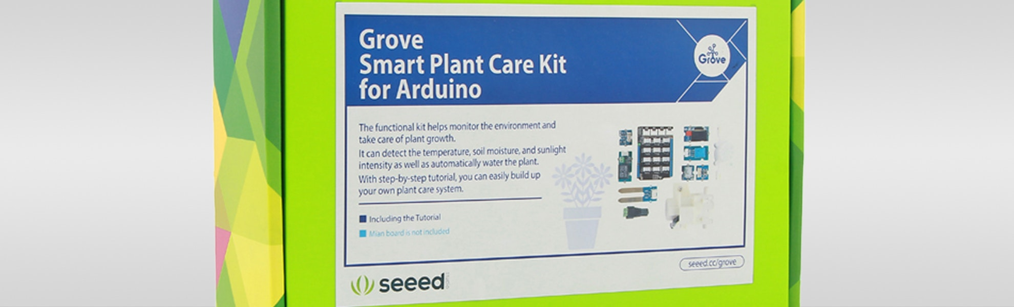 Seeed Grove Smart Plant Care Kit for Arduino